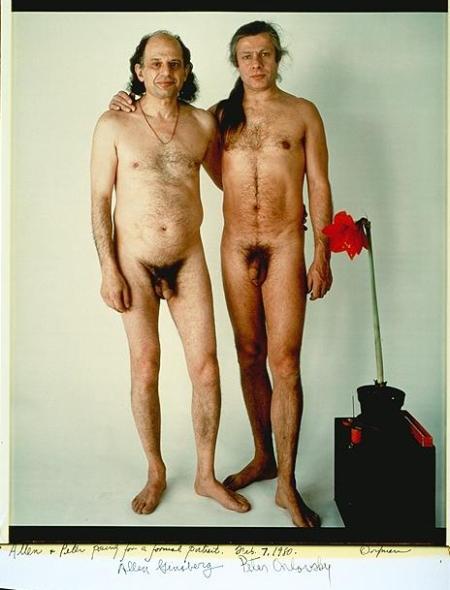 Allen Ginsberg e PeterOrlovsky
